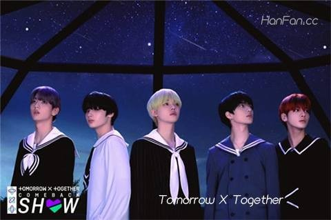 Tomorrow X Together回归秀